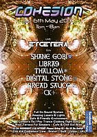 Party Flyer Cohesion PsyTrance Adventure 6 May '17, 23:00