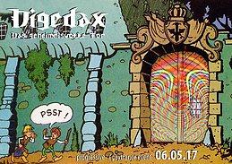 Party Flyer Digedax - das geheimnisvolle Tor 6 May '17, 23:30