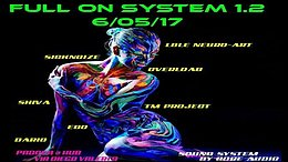 Party Flyer Full on system 1.2 6 May '17, 22:00