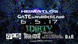 Party Flyer Gate To Wonderland 6 May '17, 22:00