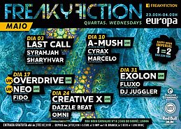 Party Flyer FREAKY FICTION 10 May '17, 23:00