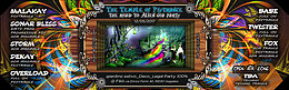 Party Flyer The Temple of psytrance 7 : the toxic alien 12 May '17, 22:00