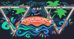 Party Flyer Psychotropica III Psytrance/Fullon & Techno 13. Mai. 17, 23:00