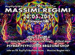 Party Flyer Massimi Regimi Vol 9 20 May '17, 11:00