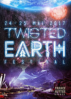 Party Flyer Twisted Earth - A psychedelic journey at 4 areas 24 May '17, 19:00