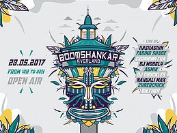 Party Flyer BoOMshankar Ever Land 28 May '17, 09:00