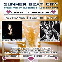 Party Flyer Summer Beat City with Morten Granau & Aphrodite 2 Jun '17, 22:00