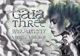 Party Flyer Gaia Three - Traditional SuomiSaunaSaundi 9 Jun '17, 06:00