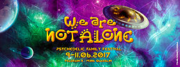 Party Flyer We Are Not Alone 9 Jun '17, 15:00