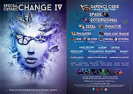 Party Flyer Special Cosmic Change 4 * Open Air * 10 Jun '17, 22:00