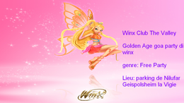 Party Flyer Free Party by MaB - Winx Club The Valley - the Gold Age 21 Jun '17, 22:00