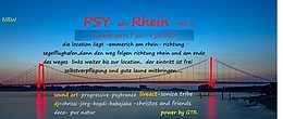 Party Flyer Psy Am Rhein 7 Jul '17, 20:00