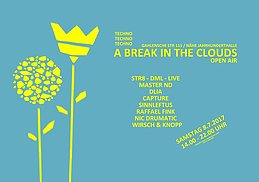 Party Flyer A Break In The Clouds | Open Air 8 Jul '17, 12:00