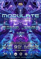 Party Flyer EPIC Tribe pres. MODULATE 15 Jul '17, 21:00