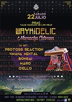 Party Flyer Waykidelic Mamacha Carmen 22 Jul '17, 21:00