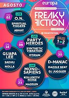 Party Flyer FREAKY FICTION 2 Aug '17, 23:00