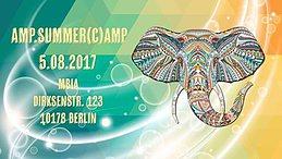 Party Flyer AMP.Summer(C)amp _Festival 5 Aug '17, 23:00