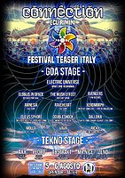 Party Flyer Connection Festival Teaser Italy Open Air 5 Aug '17, 18:00