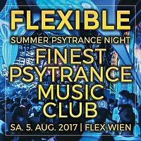 """Party Flyer Flexible """"Summer Psytrance Night"""" 5 Aug '17, 23:00"""
