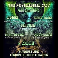 Party Flyer THE PSYCHEDELIC WAY FREE PARTY 5 Aug '17, 22:00