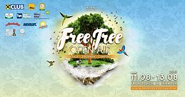 Party Flyer FREE TREE OPEN AIR - PSY CIRCUS 12 Aug '17, 20:00