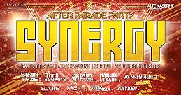 Party Flyer SYNERGY After Parade Party 12 Aug '17, 22:00