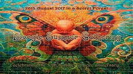 Party Flyer ★★★ Boogie Summer Gathering ★★★ 26 Aug '17, 22:00