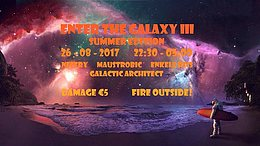 Party Flyer Enter The Galaxy III: Summer Edition 26 Aug '17, 22:00