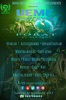 Party Flyer Uttarakhand Electronic Music Festival (UEMF ) 26 Aug '17, 08:00