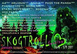 Party Flyer Skogtroll Festival 2017 30 Aug '17, 18:00
