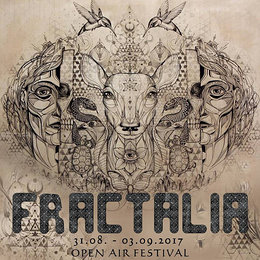 Party Flyer FRACTALIA Oper Air 31 Aug '17, 15:00