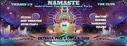 Party Flyer Free x Lista! Viernes 1/9 Namaste Underground Psytrance Party 1 Sep '17, 23:59