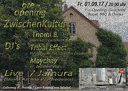 Party Flyer Pre-Opening - ZwischenKultur 1 Sep '17, 20:00
