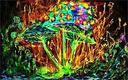 Party Flyer Psychedelisches Pilzgematsche vol 2 1 Sep '17, 23:00