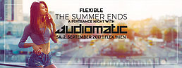 "Party Flyer Audiomatic "" The Summer Ends - Flexible Psytrance Night"" 2 Sep '17, 23:00"