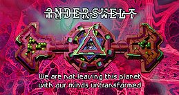 Party Flyer Anderswelt // Psychedelic Trance & Chill Out Gathering // 8 Sep '17, 23:55