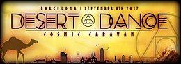 Party Flyer Desert Dance festival promo party 8 Sep '17, 23:30