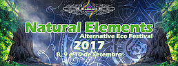 Party Flyer Natural Elements 2017 - Alternative Eco Festival 8 Sep '17, 22:00