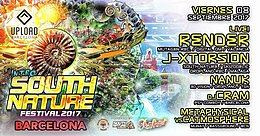 Party Flyer South Nature 2017 - Official teaser in BCN 8 Sep '17, 01:00