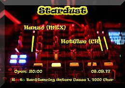 Party Flyer Stardust w/Hanzo (MEX) 8 Sep '17, 20:00