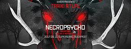 Party Flyer Goázis presents: Tariki Ritual w/ Necropsycho (BR) 15 Sep '17, 22:00