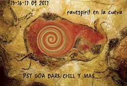 Party Flyer ravespirit en la cueva 15 Sep '17, 22:00