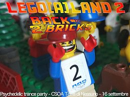 Party Flyer ..(::) Lego(A)land (::).. 2 (Back2Bricks) 16 Sep '17, 23:00