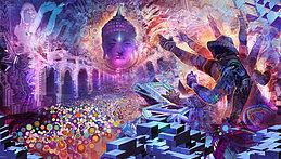Party Flyer Shanti - Mandala Live (Nano Records) 16 Sep '17, 22:00
