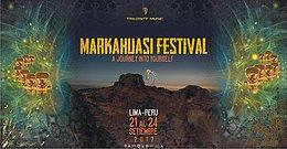 Party Flyer Markahuasi Psytrance Fest 2017۞Festival de Arte y Espiritualidad 21 Sep '17, 18:00