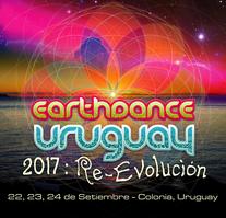 Party Flyer Earthdance Uruguay 2017 22 Sep '17, 17:00