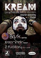 Party Flyer KREAM Season Opening 23 Sep '17, 23:55