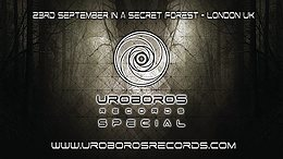 Party Flyer Uroboros Records Special :: London UK 23 Sep '17, 11:00