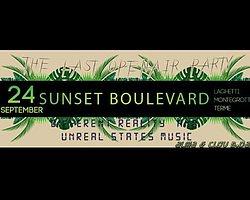 Party Flyer Sunset Boulevard Clov & Alma B-Day 24 Sep '17, 09:00