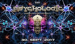 Party Flyer PsychoLogic 4 ॐ Ab 20 ♫ Kabayun / Spiral ♫ Die ersten 100 = Free Entry 30 Sep '17, 21:00